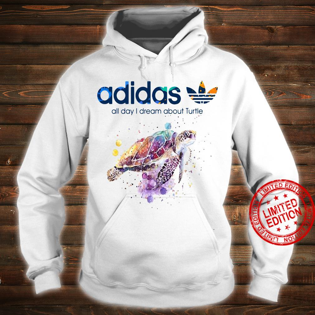 Adidas All Day I Dream About Turtle Shirt hoodie