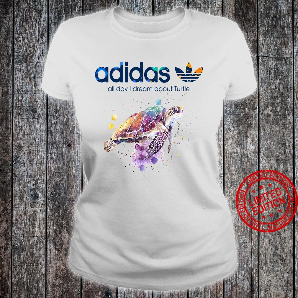 Adidas All Day I Dream About Turtle Shirt ladies tee