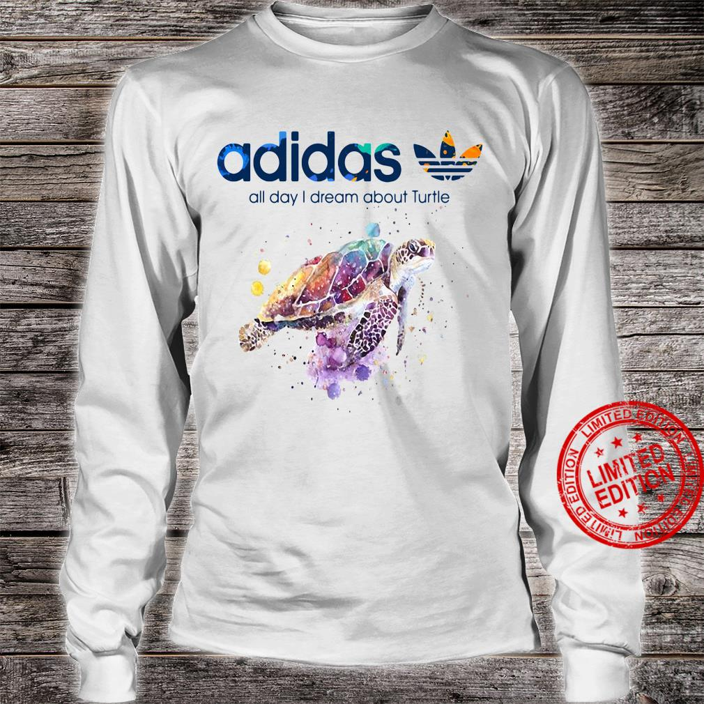 Adidas All Day I Dream About Turtle Shirt long sleeved