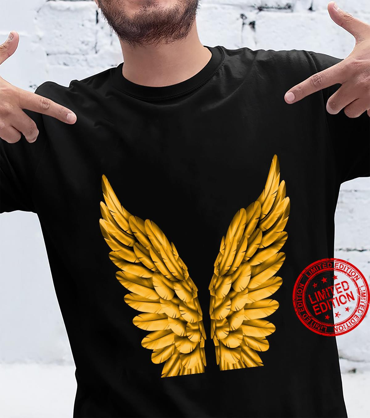 Angel Wings Freedom Guardian & Angel Shirt