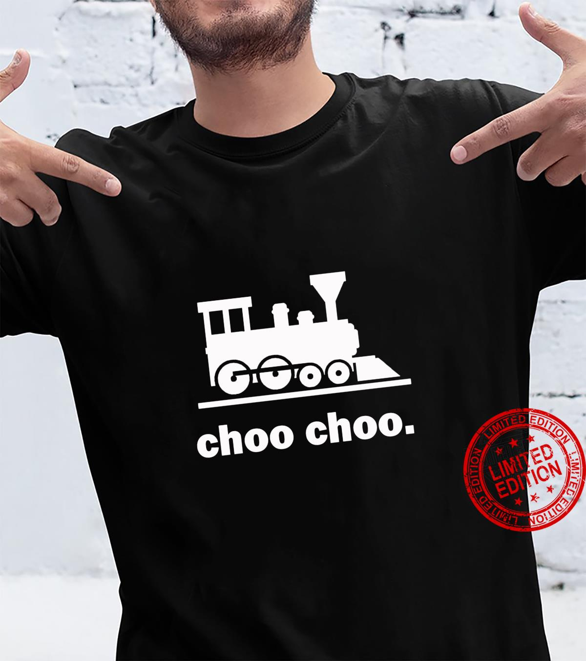 Choo Choo Train Railway Road Conductor Locomotive Shirt