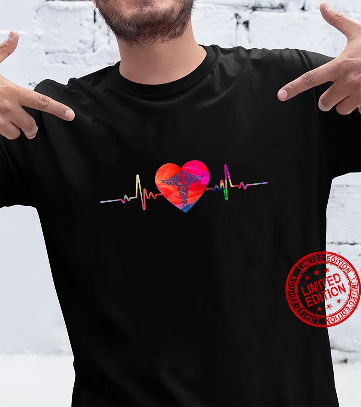 Funny Hospital Nurse Nursing Heart Shirt