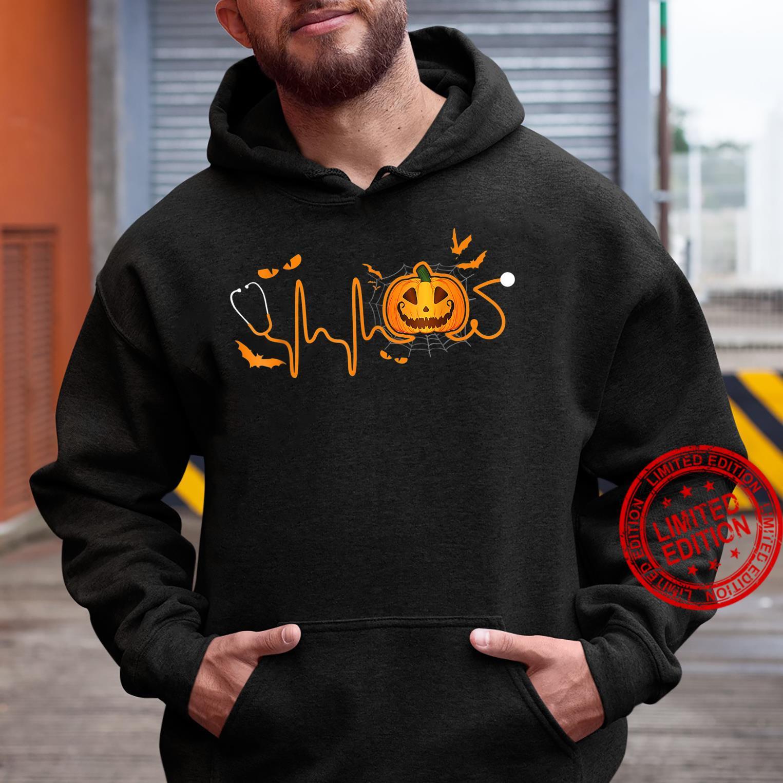 Halloween Pumpkin Nurse Shirt hoodie