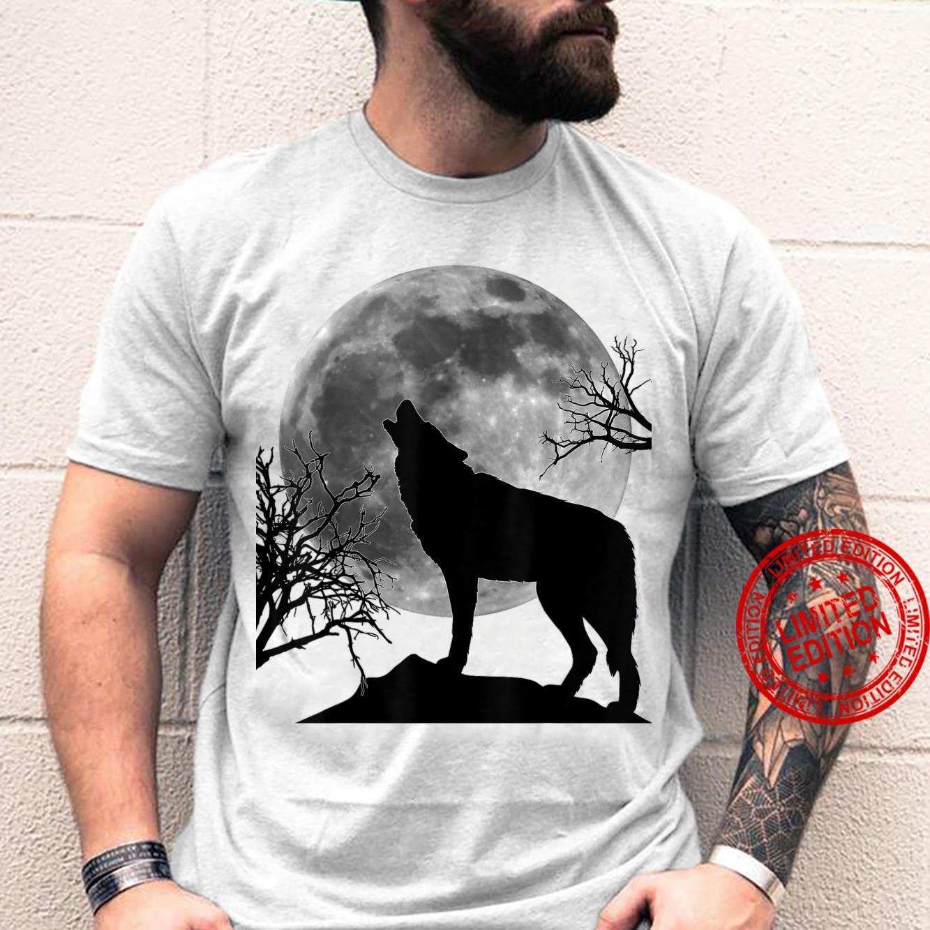 Howling at the Moon Shirt