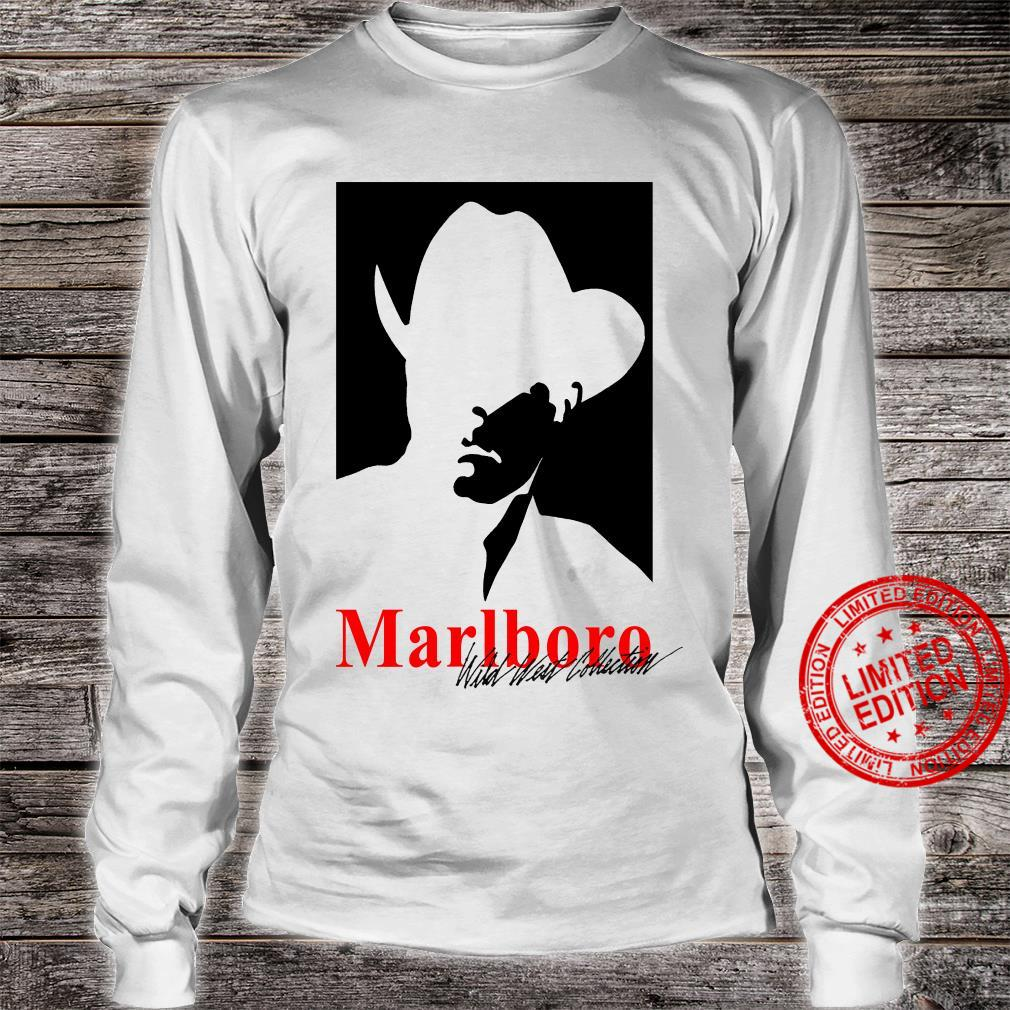 Vintage 90s Marlboro Man wild west collection shirt long sleeved