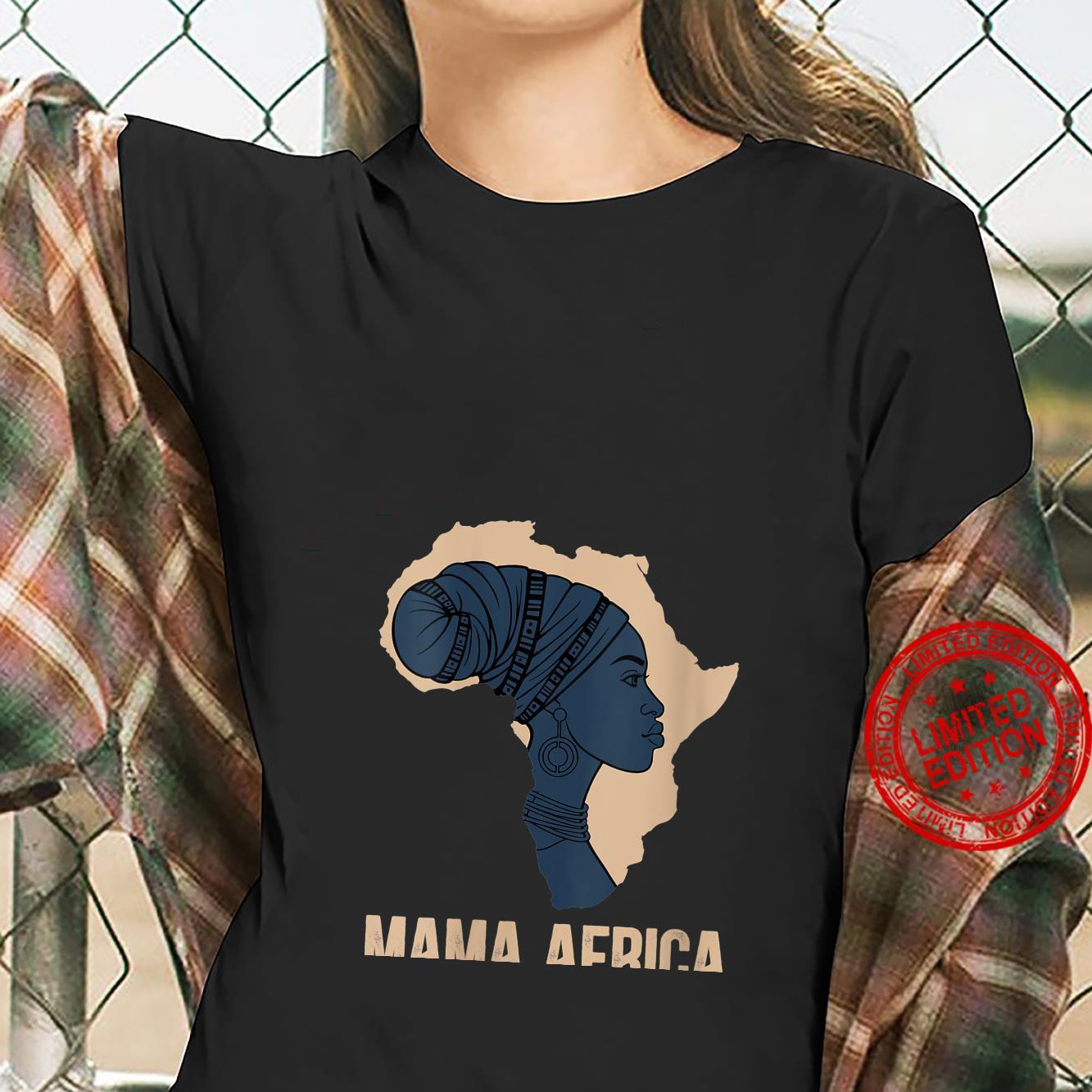 Womens Mama Africa Shirt ladies tee