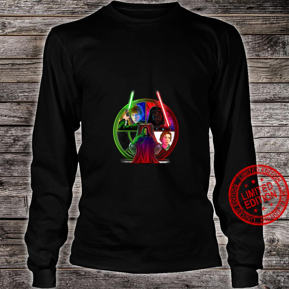 Womens Star Wars Return Of The Jedi Exclusive Throne Room Shirt long sleeved
