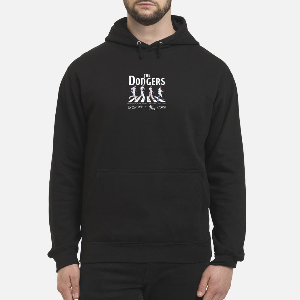 Abbey Road the Dodgers signature shirt hoodie