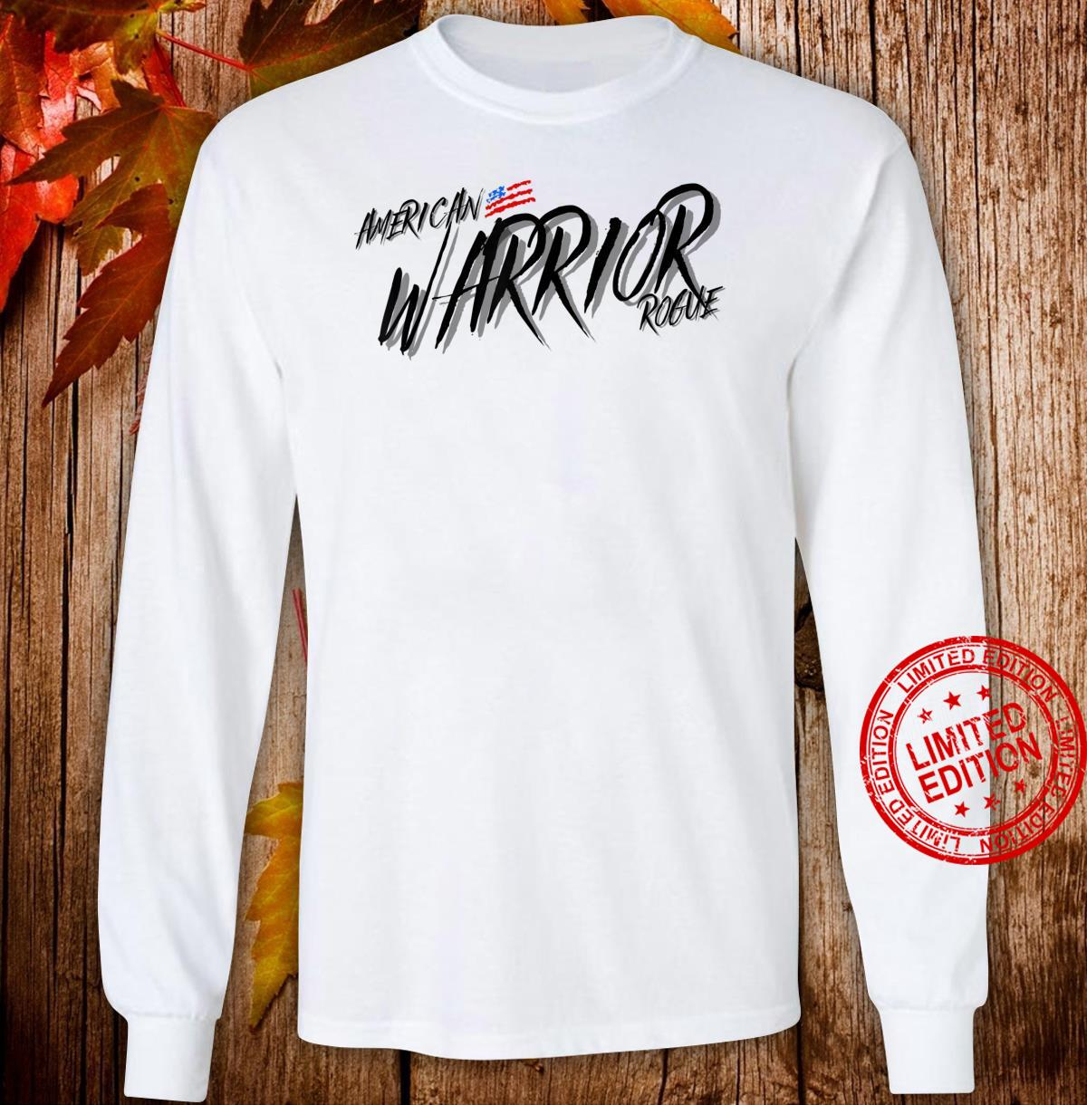 Armed Forces Rogue Warrior Military Army Soldier Tough Guy Shirt long sleeved