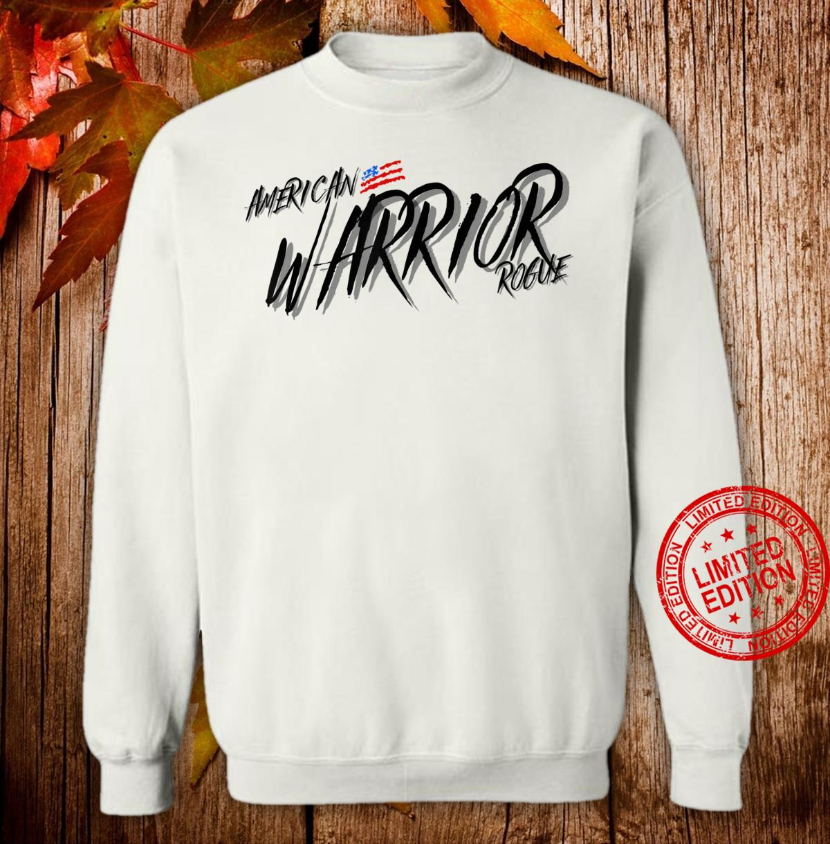 Armed Forces Rogue Warrior Military Army Soldier Tough Guy Shirt sweater