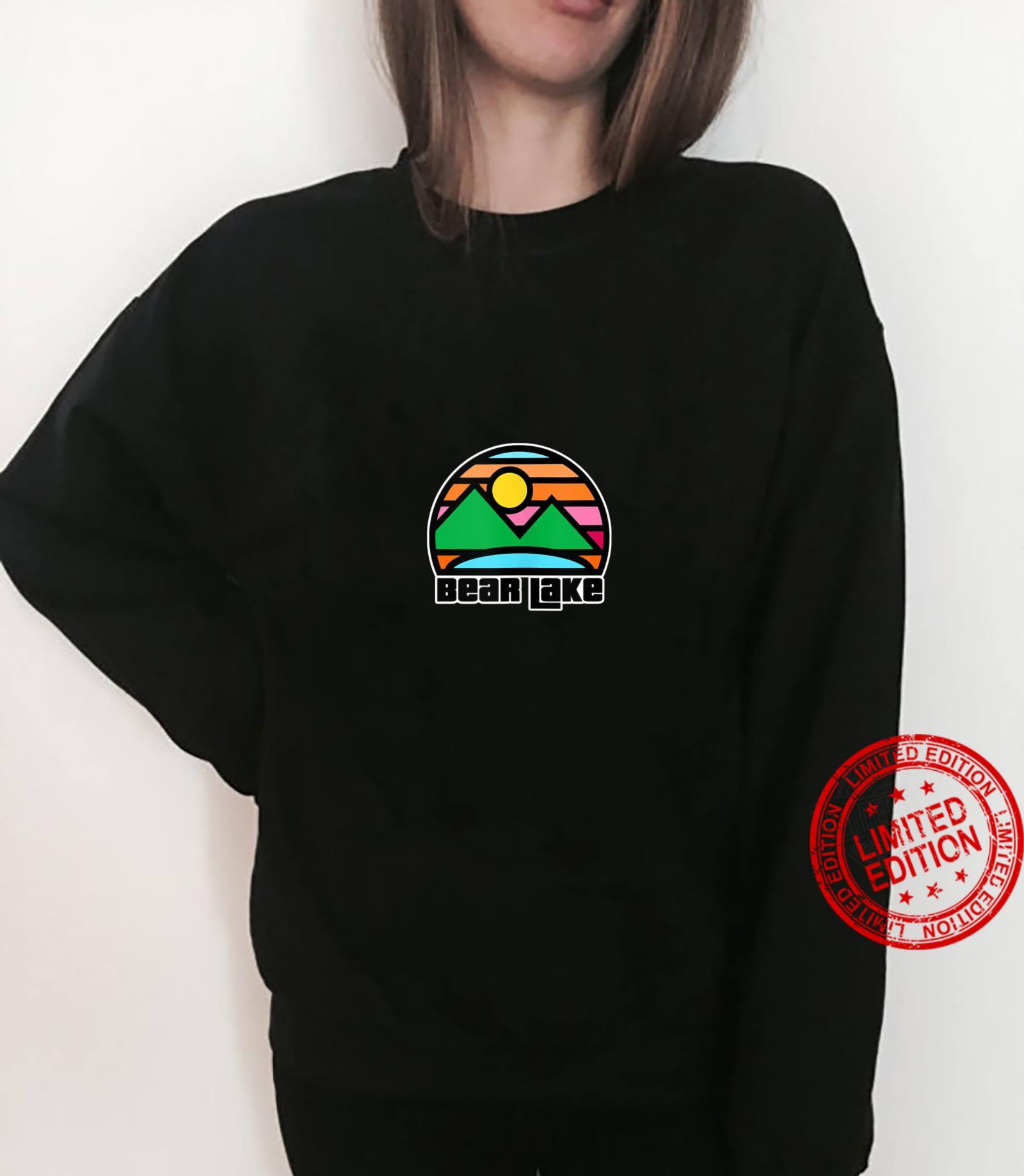 Bear Lake Utah and Idaho Vacation Souvenir Shirt sweater