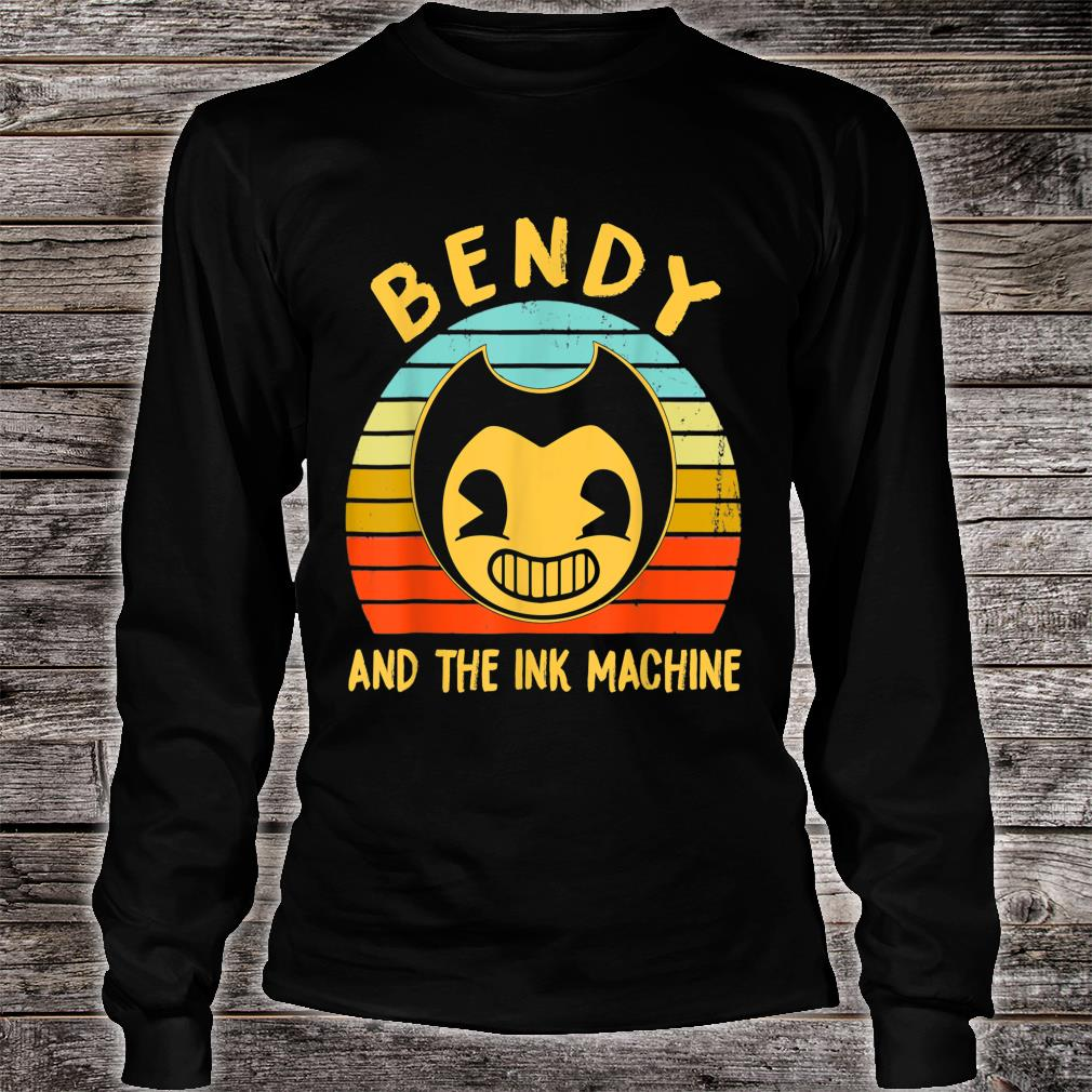 Bendy and the Ink Machine Gift Shirt long sleeved