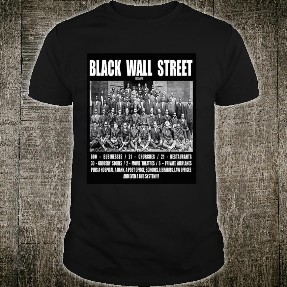 Black Wall Street Shirt