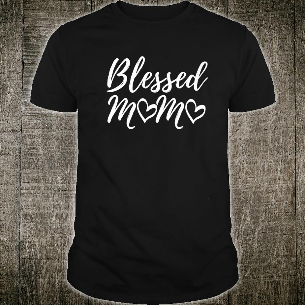 Blessed Mama Shirt Christmas Blessed Family Matching Shirt