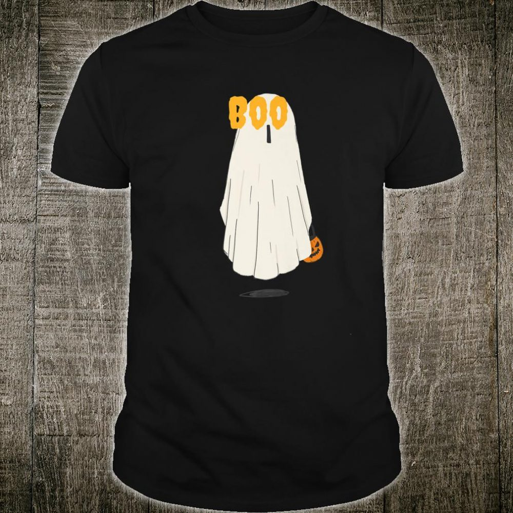 Boo Ghost Trick or Treat Shirt