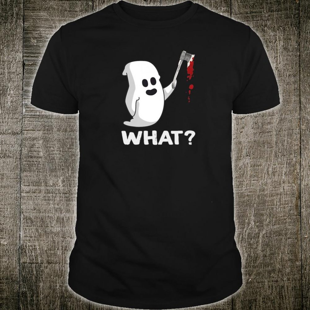 Boo What Murderous Cat With knife Halloween Shirt