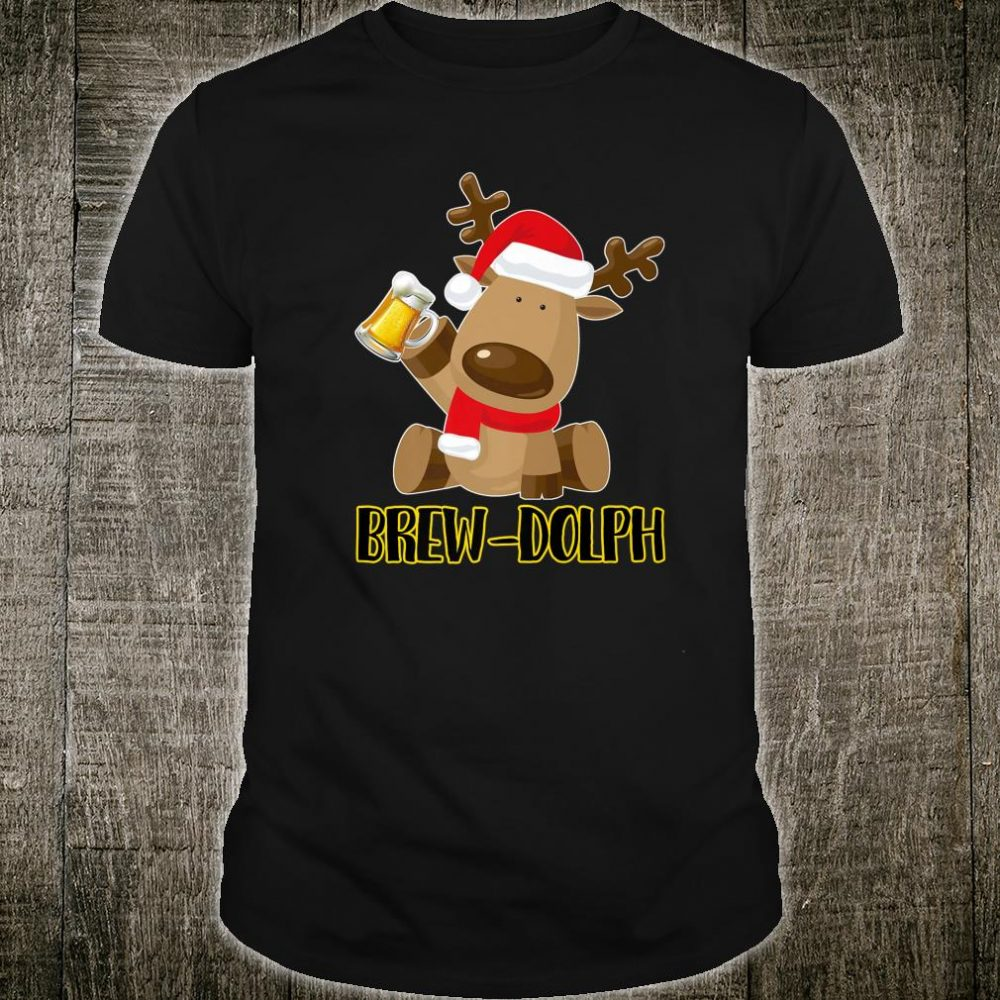 Brew Dolph Christmas Beer Shirt