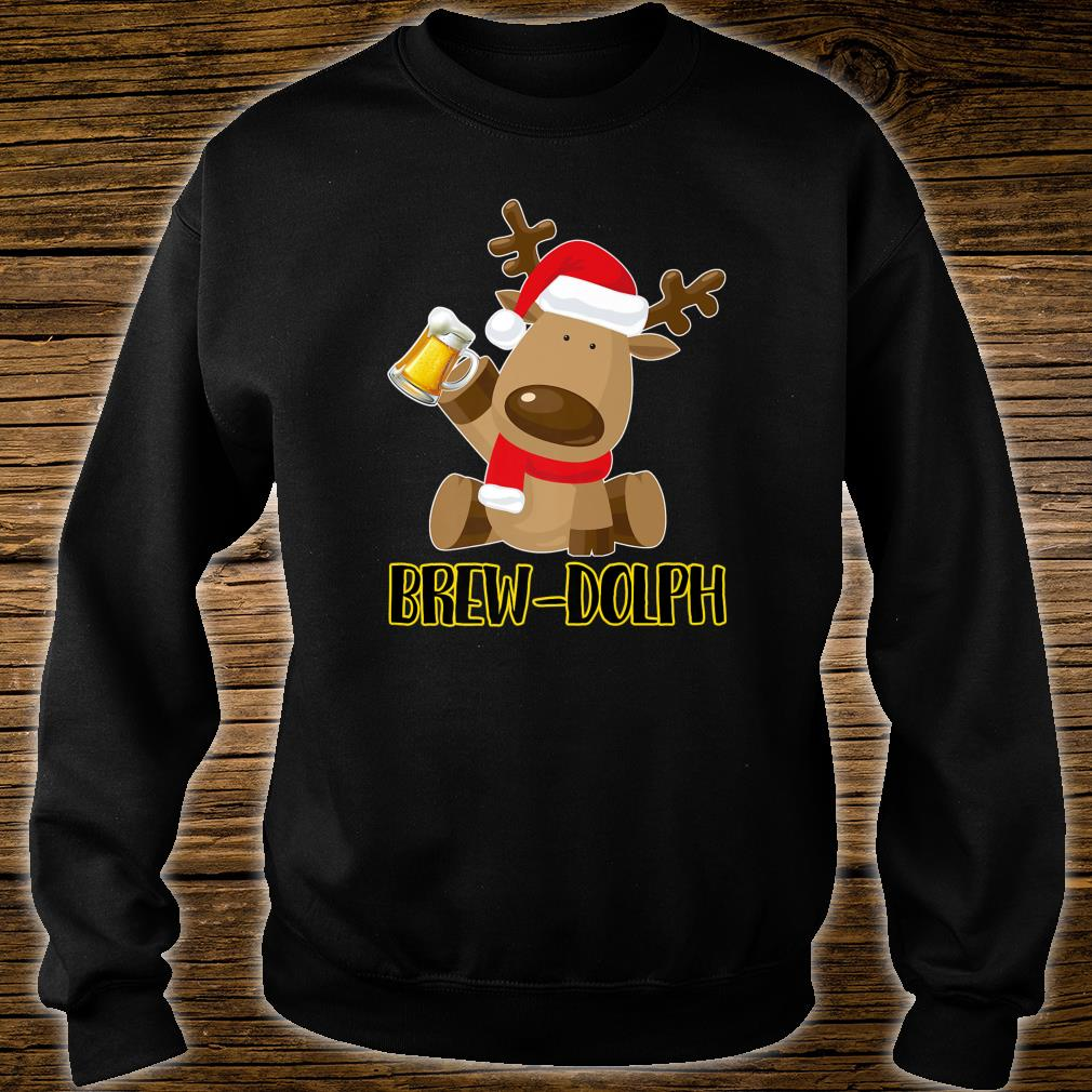 Brew Dolph Christmas Beer Shirt sweater