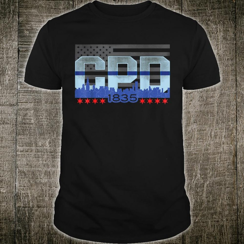 Chicago Police Officer Vintage CPD Shirt