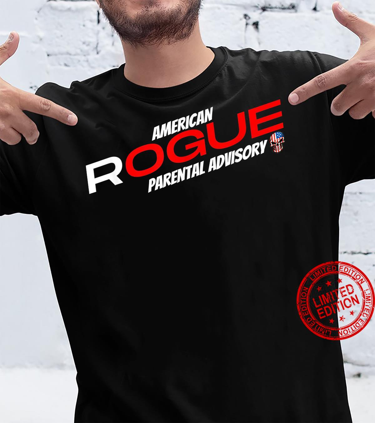 Cool Rogue Patriot Armed Forces Style Military Tough Guy Gym Shirt