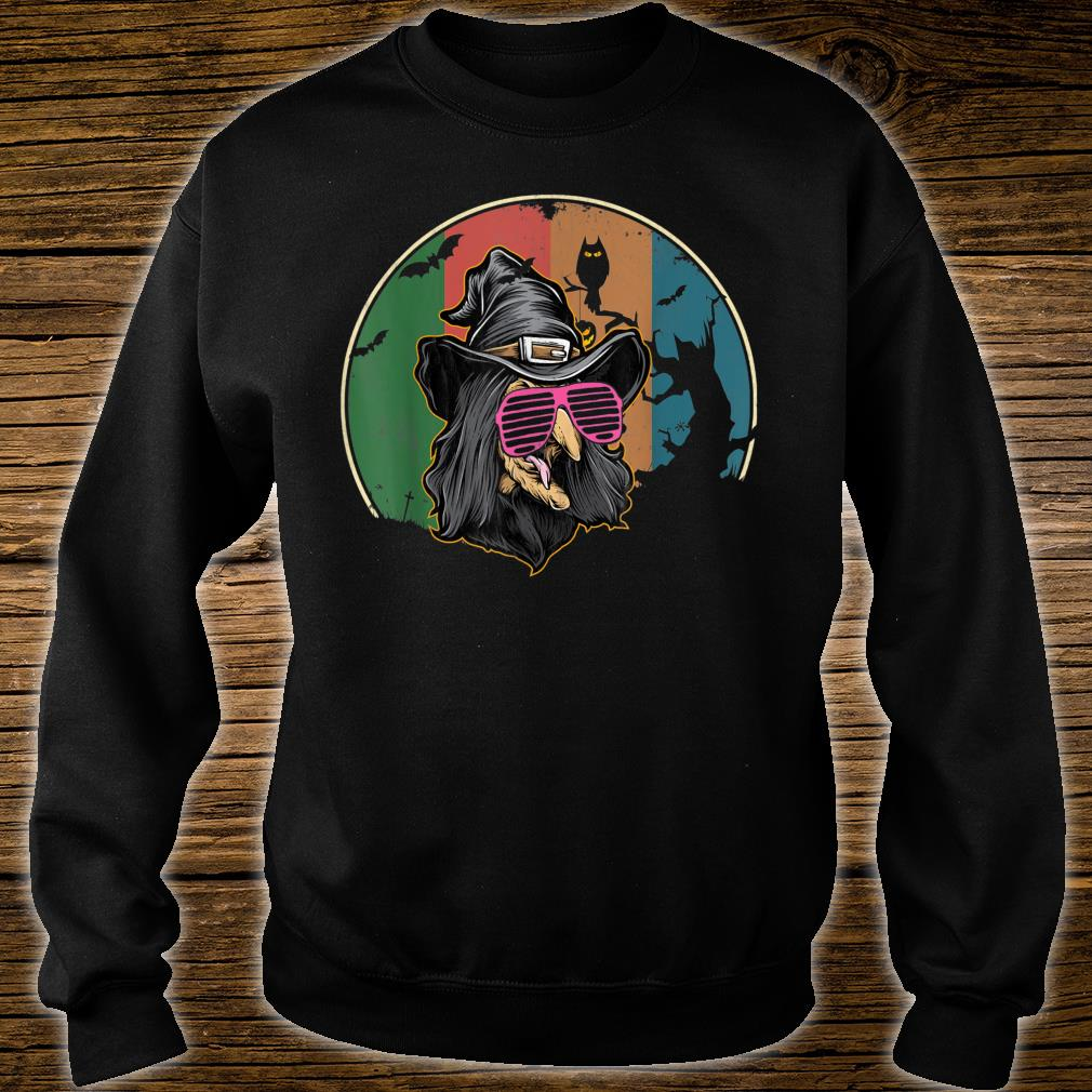 Cute Witch Halloween Vintage retro 80s Shirt sweater