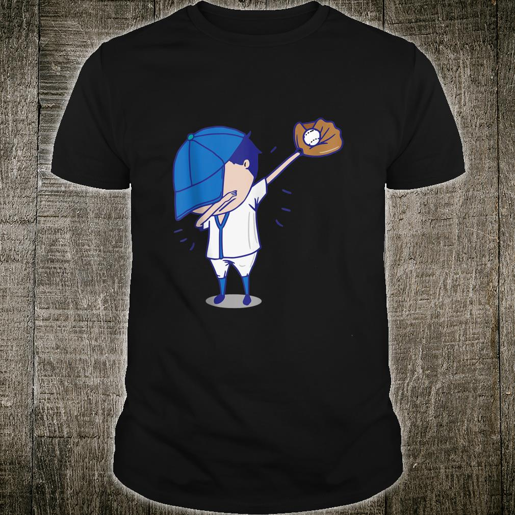 Dabbing Baseball Player Funny Pitcher Catcher Dab Dance Shirt