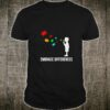 Embrace Differences - Support Autism Awareness Day Shirt