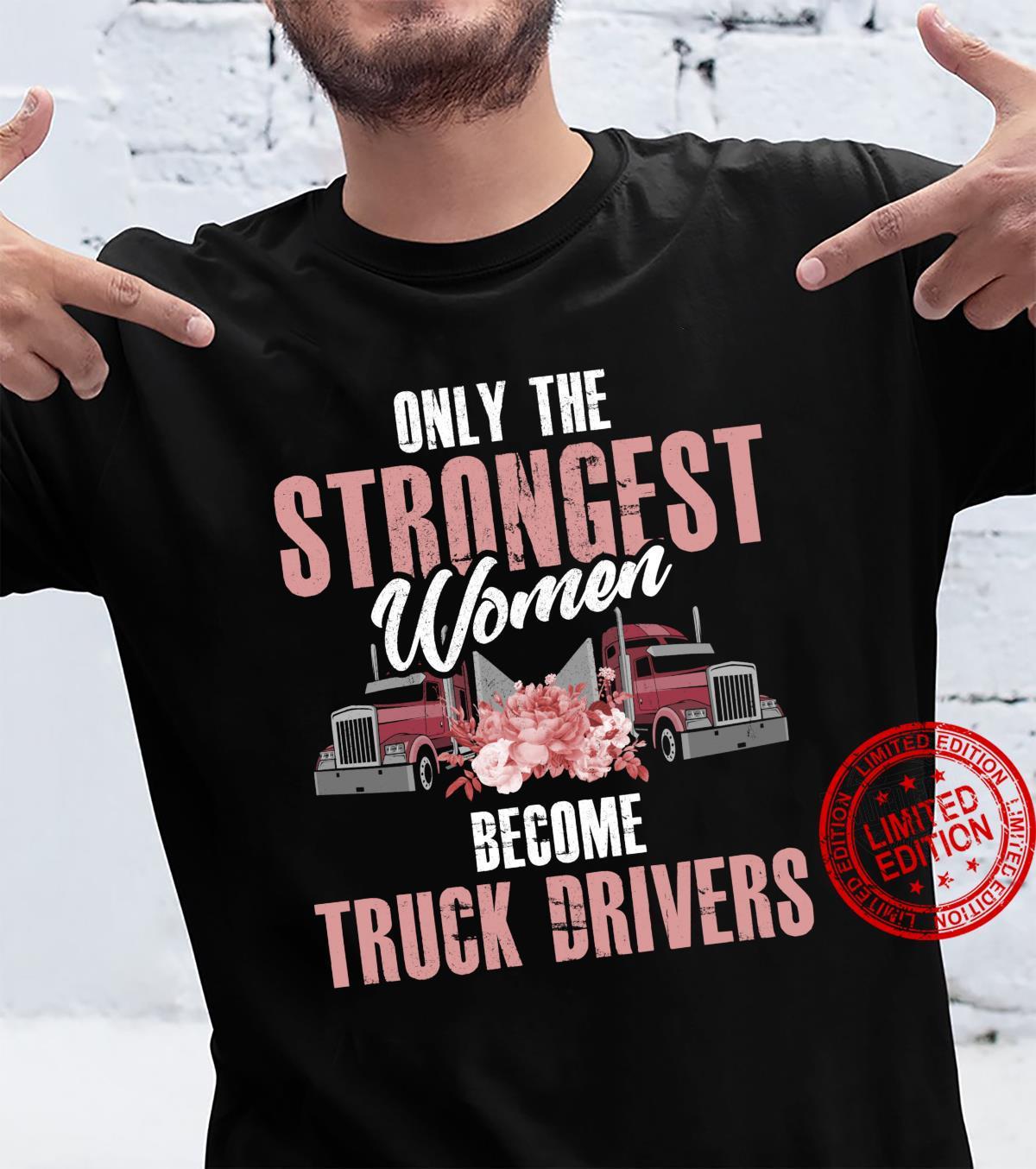 Female Truck Driver Shirt Trucker Shirt