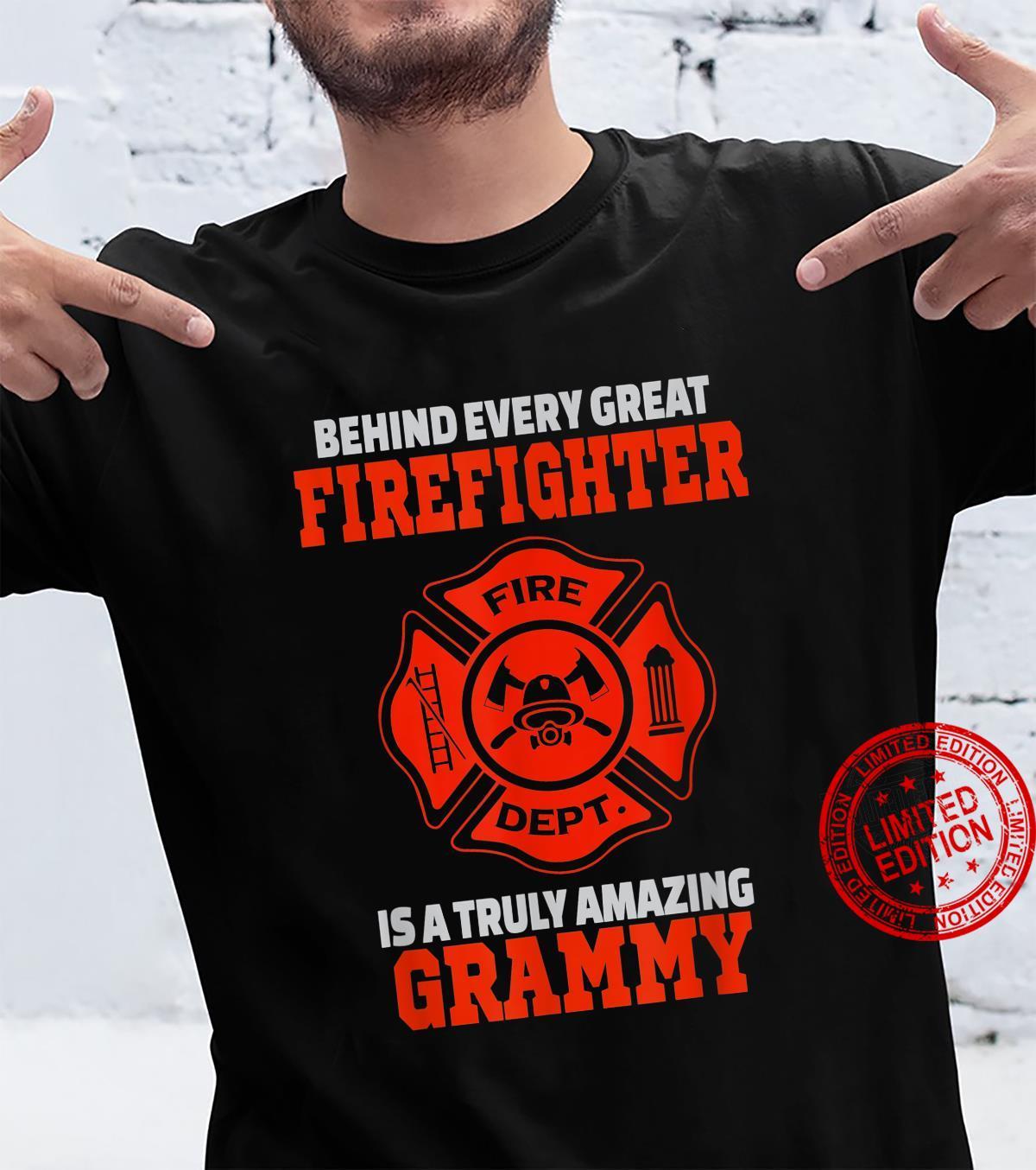 Firefighter Grammy Shirt