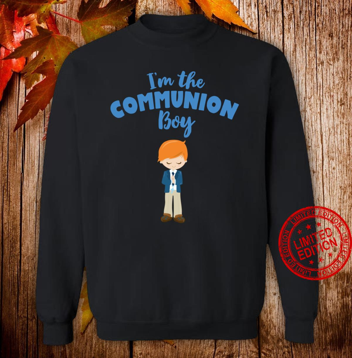 First Communion for red haired Boys 2020 Shirt sweater