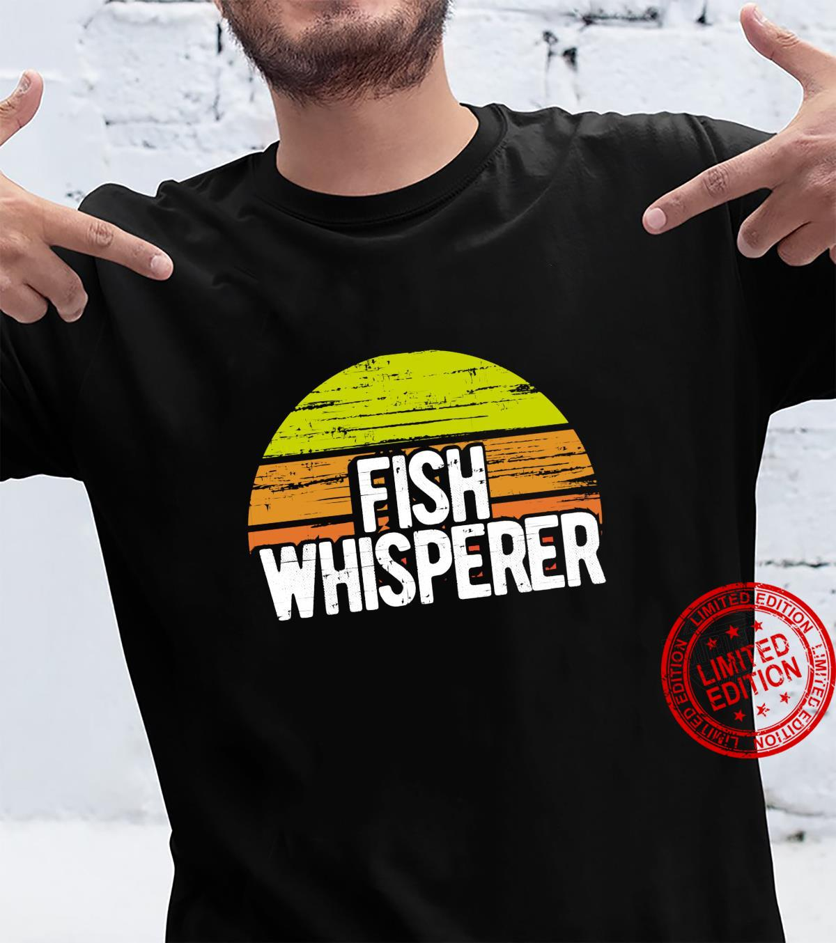 Fishing Whisperer Fish Vintage Retro Shirt