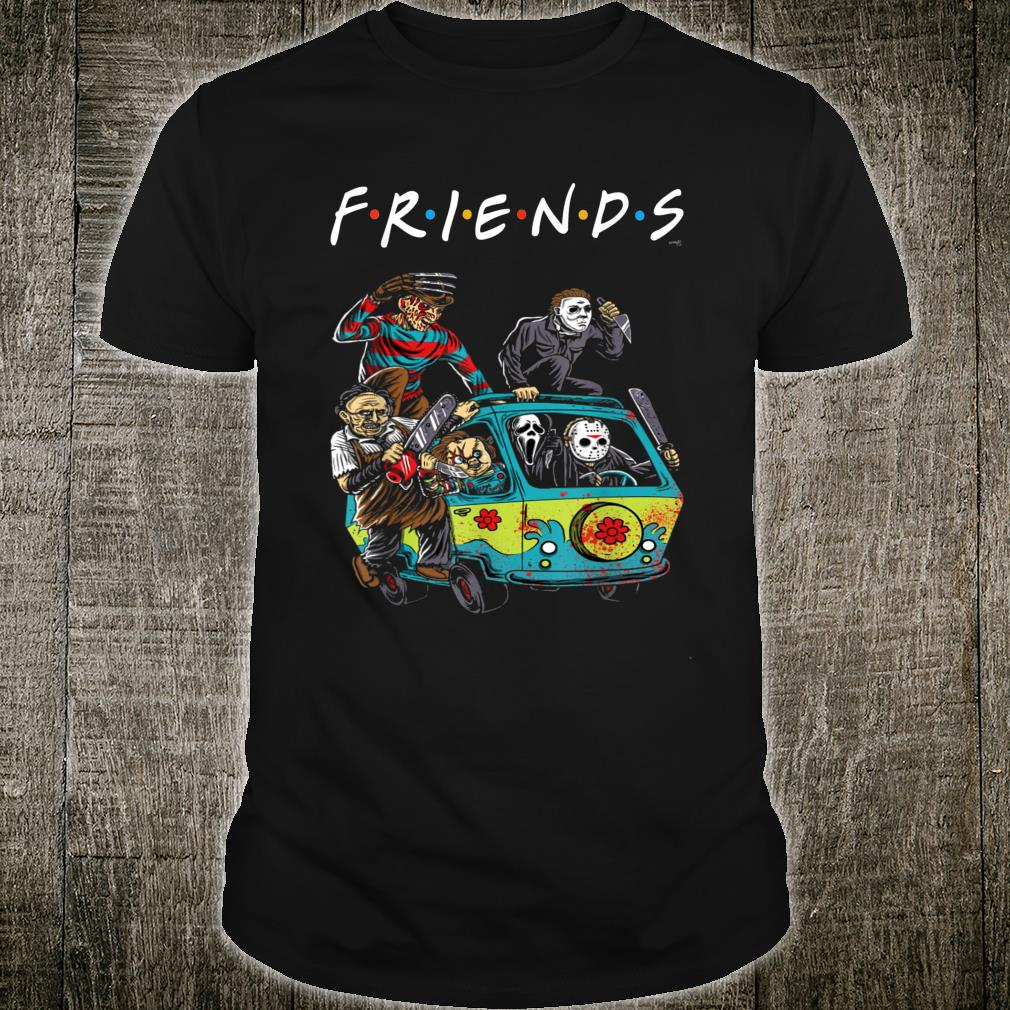 Halloween Friends Shirt.Friends Horror Movie Creepy Halloween Shirt