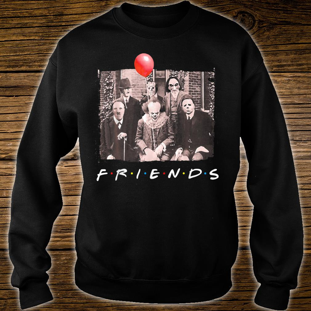 Official Friends Horror Movie Creepy Shirt Hoodie Tank Top And Sweater
