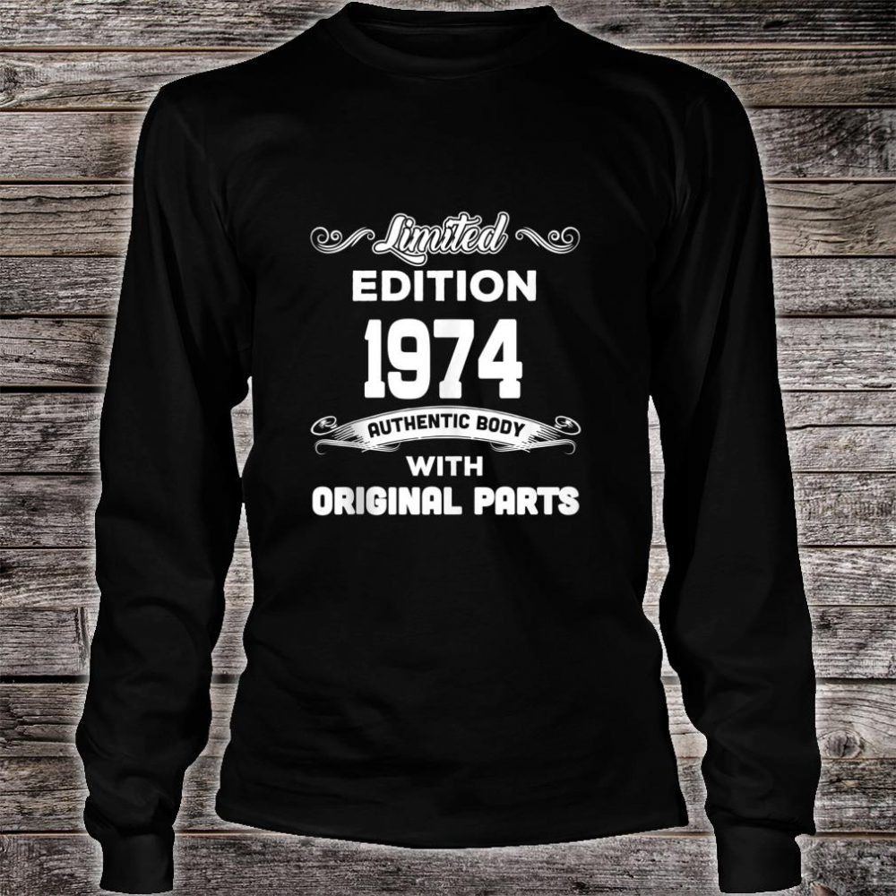 Funny 45th Birthday 45 Years Old Shirt long sleeved