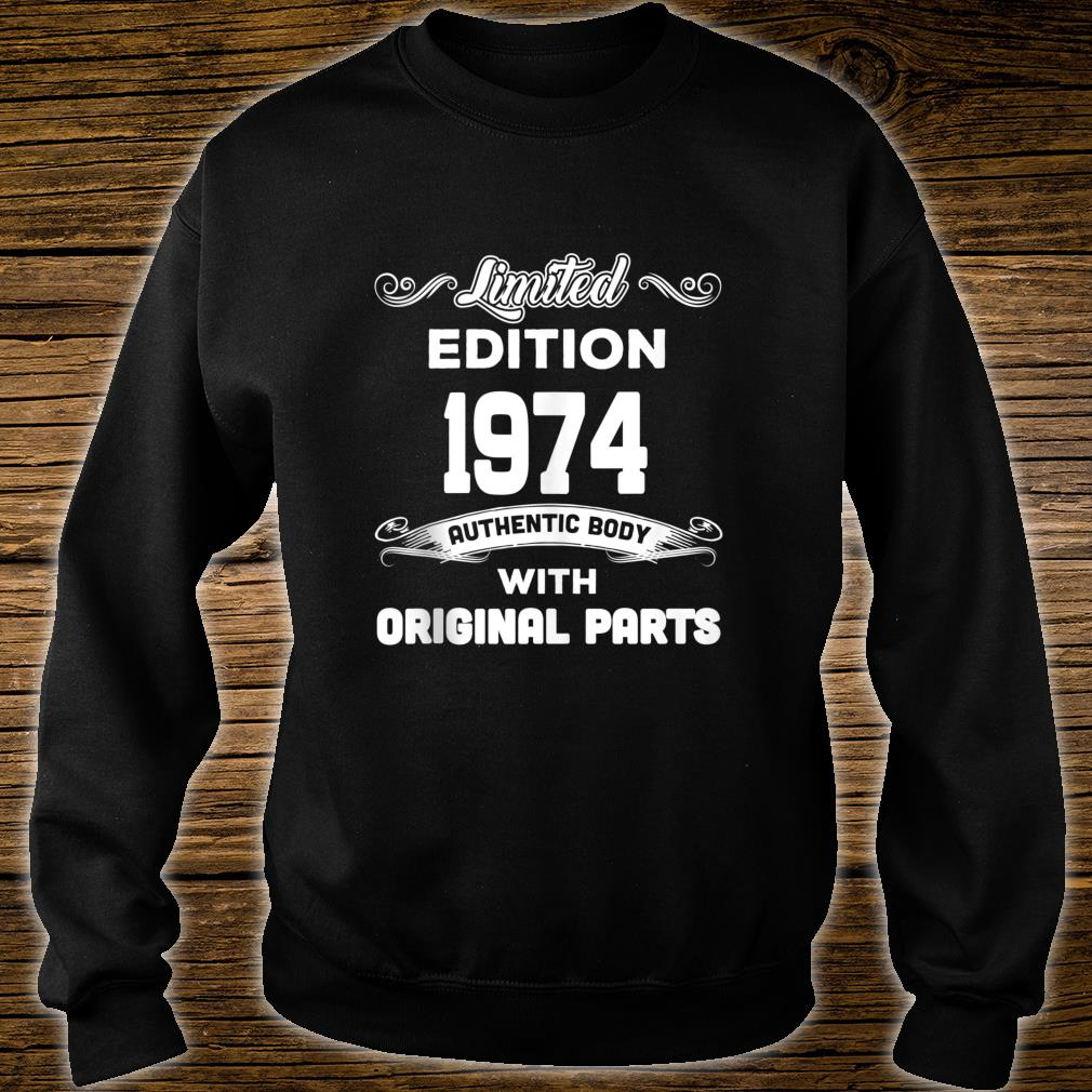 Funny 45th Birthday 45 Years Old Shirt sweater