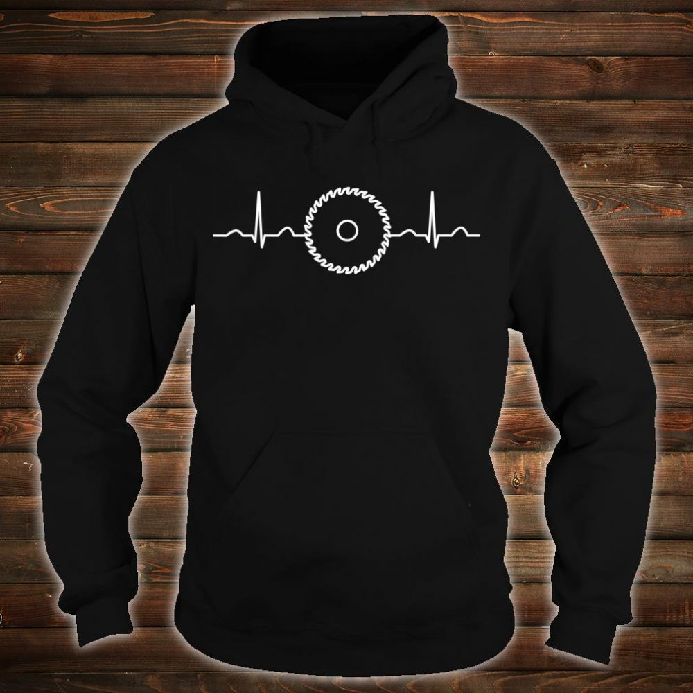 Funny Carpenter Heartbeat Apparel Fan Boys Shirt hoodie