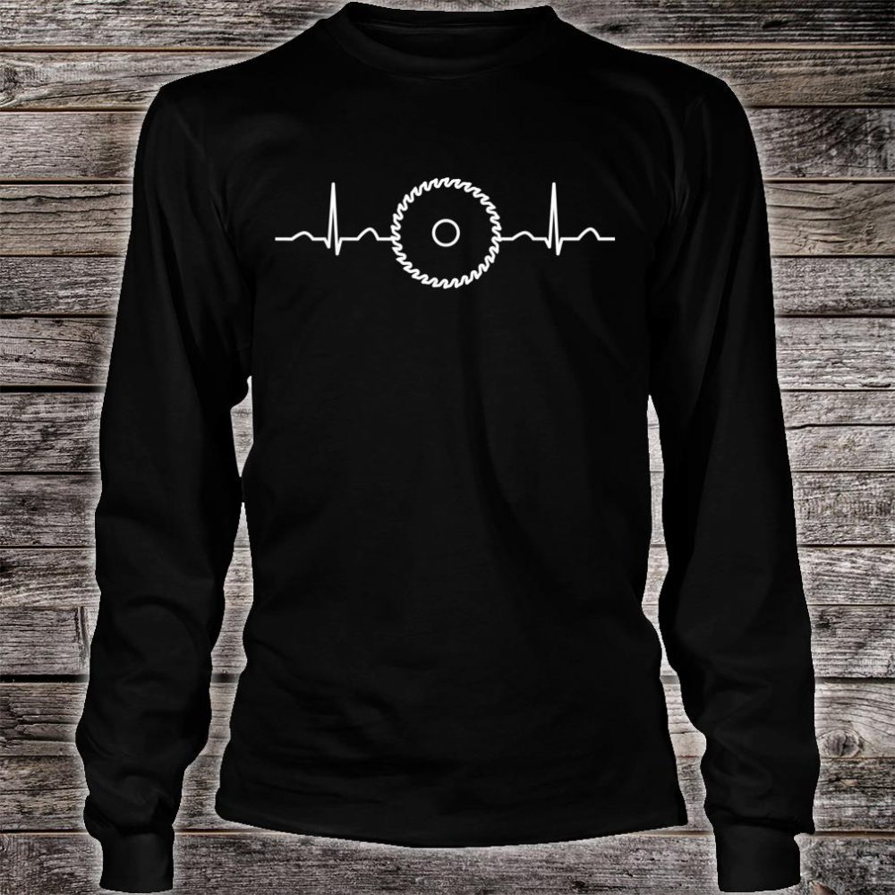Funny Carpenter Heartbeat Apparel Fan Boys Shirt long sleeved