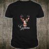 Gamma Reindeer Matching Family Pajama Xmas Shirt