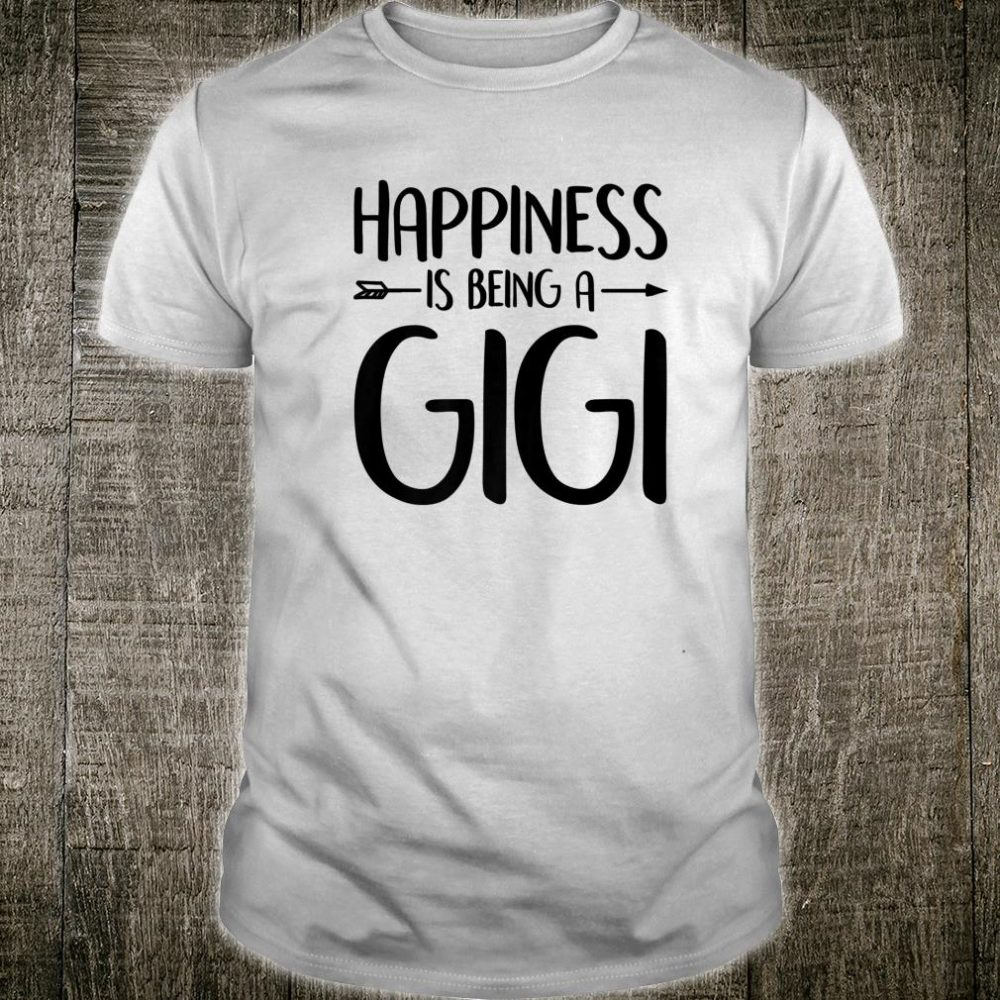 Happiness Is Being A Gigi Shirt Mother's Day Blessed Mom Shirt