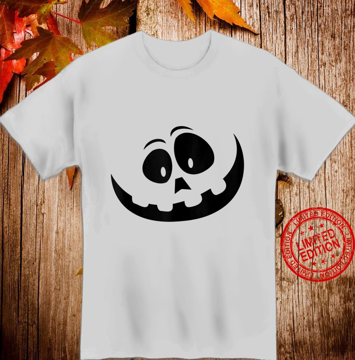 JackOLantern Pumpkin Face Halloween Easy Lazy Costume Shirt