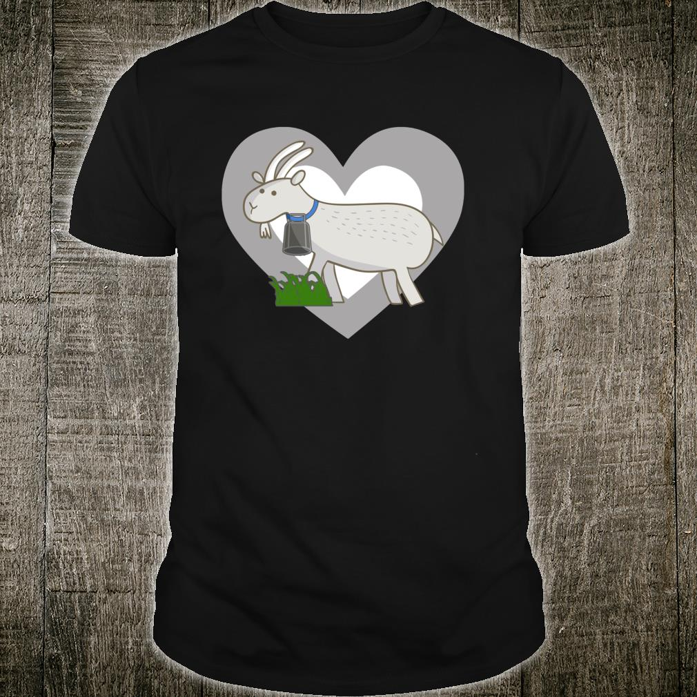 Love Goats Cute Goat Heart Shirt