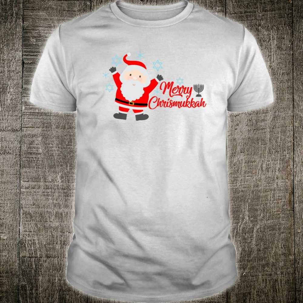 Merry Chrismukkah jewish Hanukkah and Christmas Shirt
