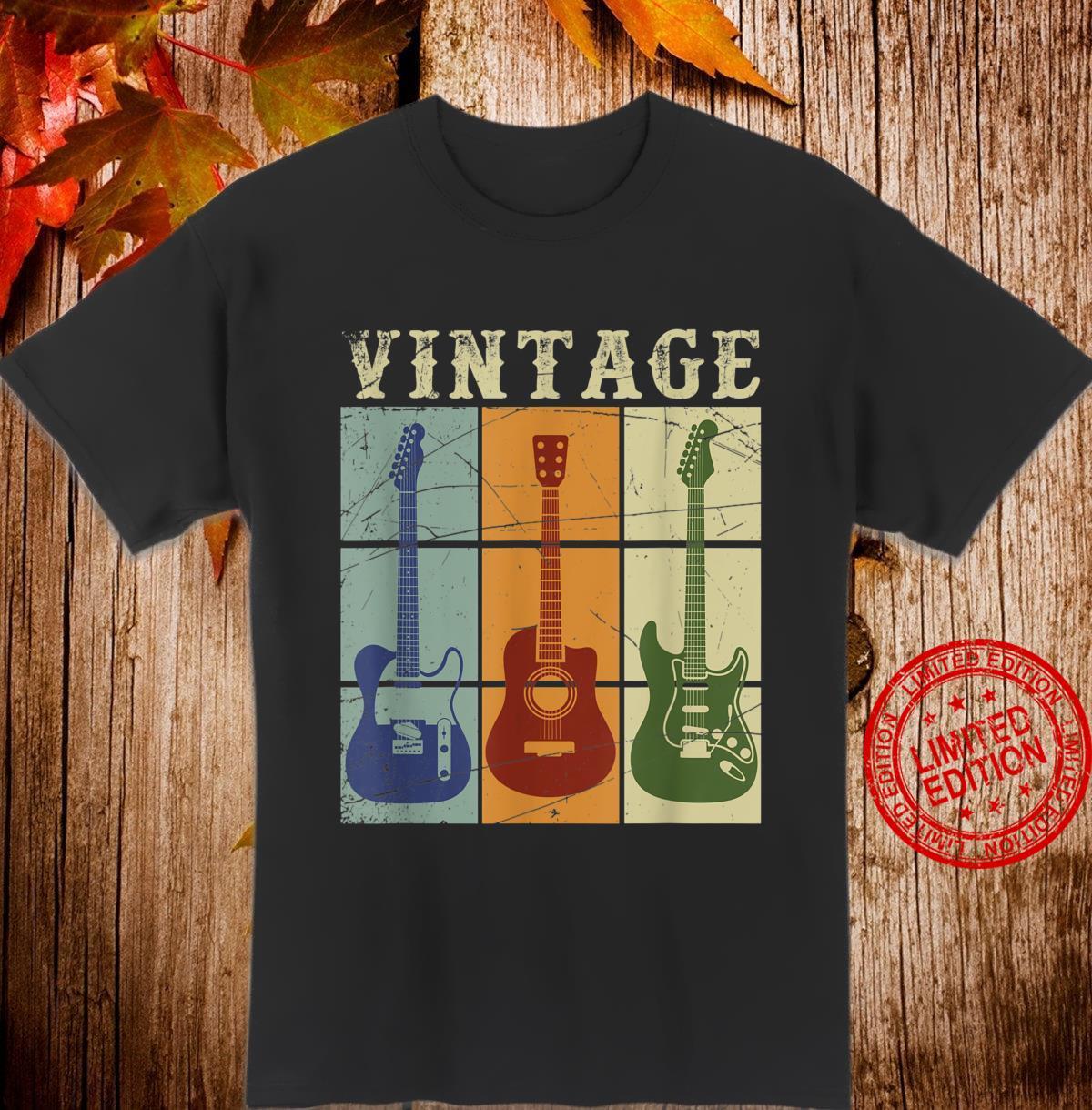 Musical Instrument Guitarist Musician Guitar Shirt