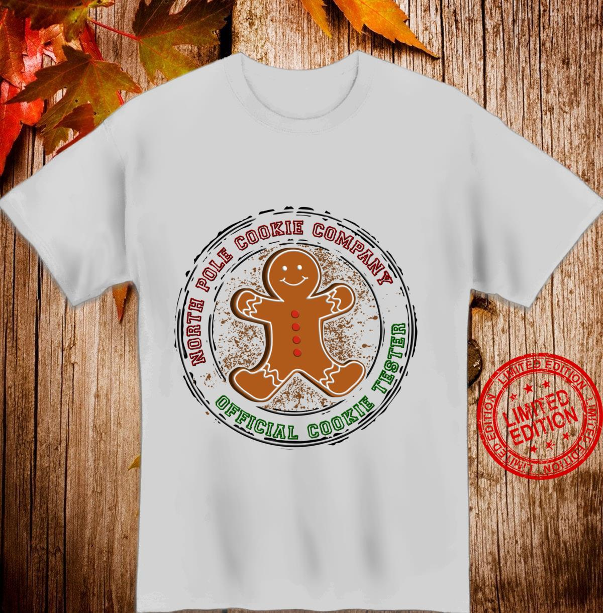 North Pole Cookie Company Official Cookie Taster Shirt
