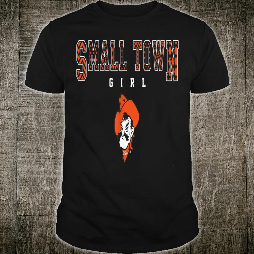 Oklahoma State Cowboys Small Town Girl Apparel Shirt