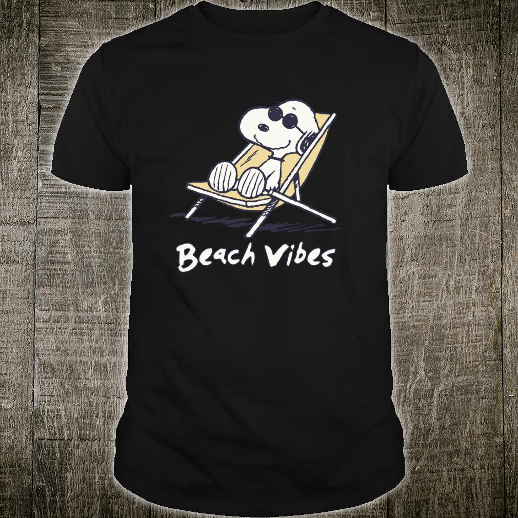 Peanuts Snoopy Beach Vibes Shirt