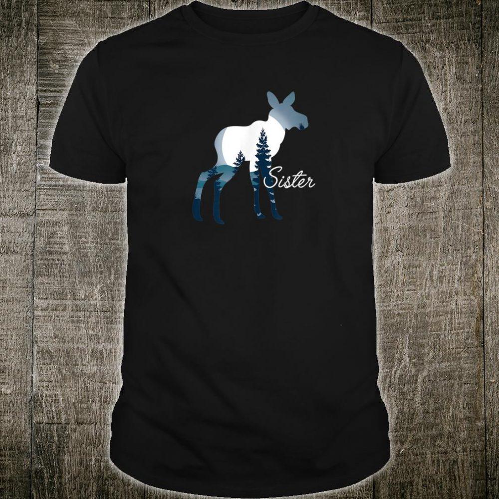 Sister Moose Family Holiday Shirt