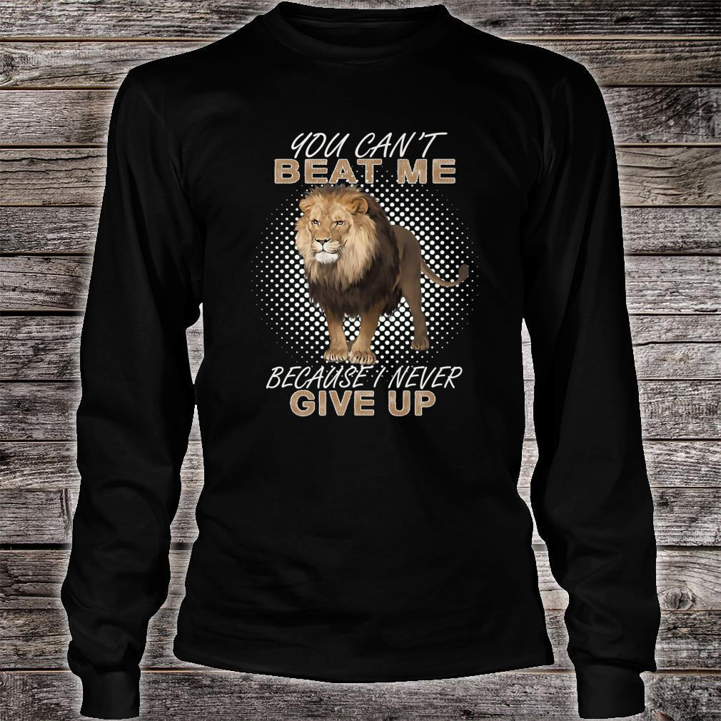 The Lion Shirt long sleeved