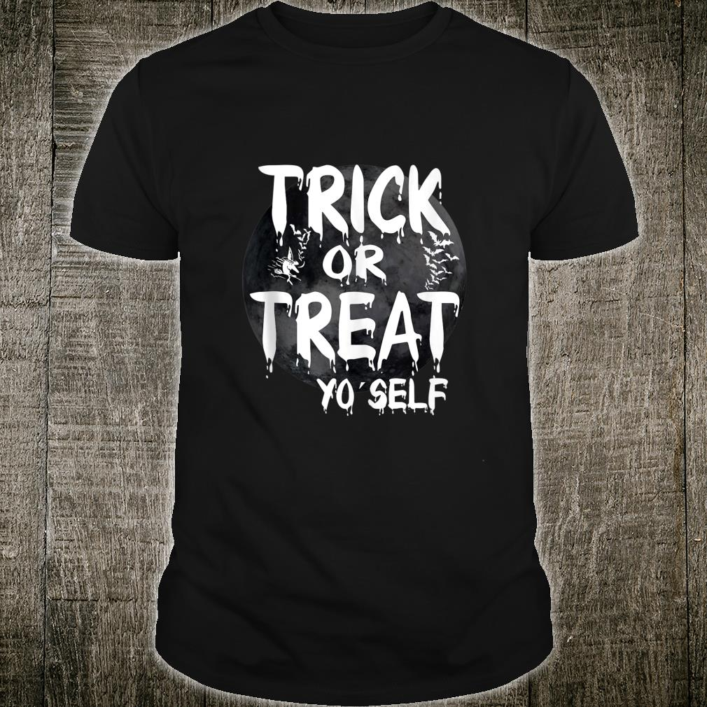 Trick or Treat Funny Halloween Witch Shirt
