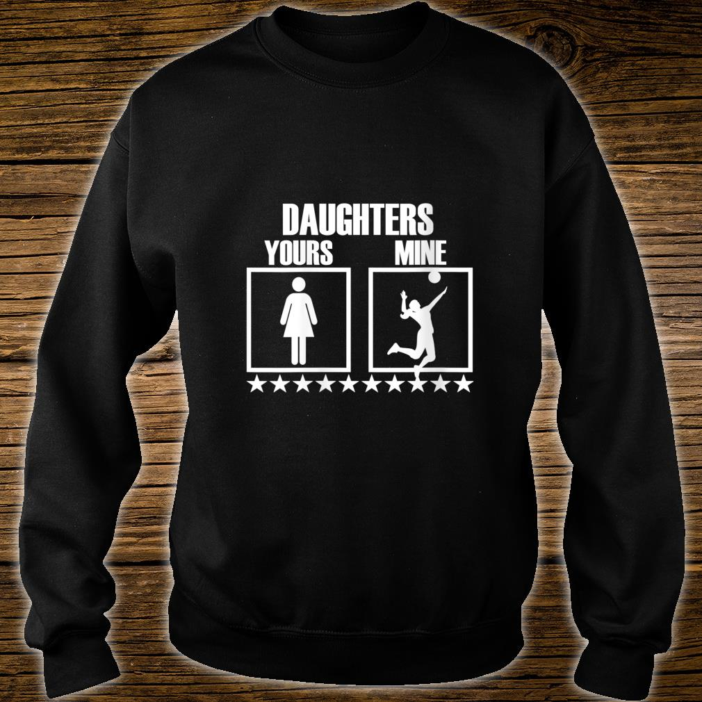Volleyball Mom and Dad Gift for Volleyball Parents Shirt sweater